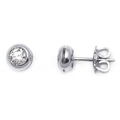 orecchini solitario diamante babila milano