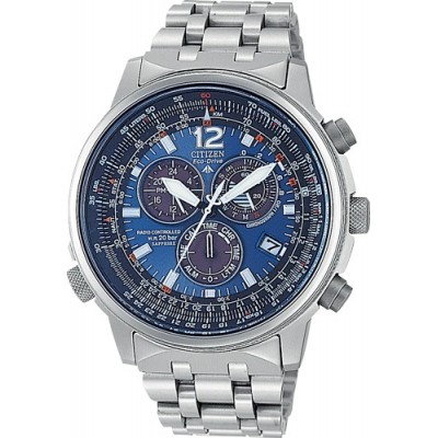 CITIZEN pilot crono titanio AS4050-51L