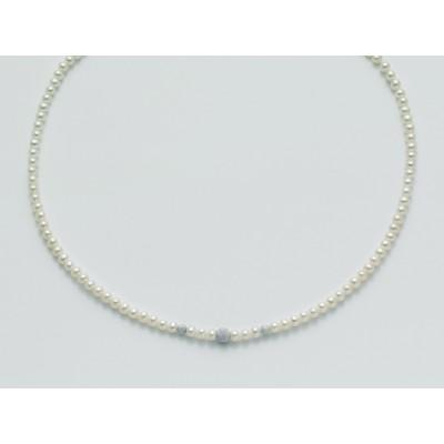 Miluna collana di perle i gioielli della sposa PCL4534