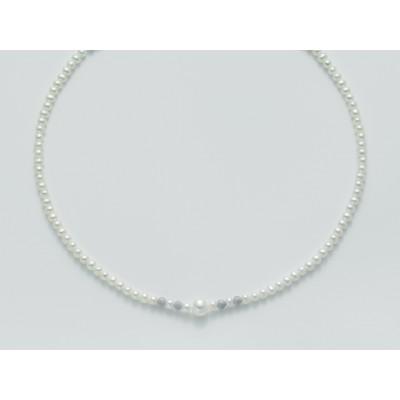 Miluna perle sposa collana PCL3080