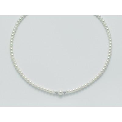 Miluna collana PCL4530 di perle e oro