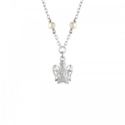 Giannotti collana in argento e perle gia176