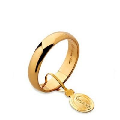 fede unoaerre classica larga 4 grammi oro giallo