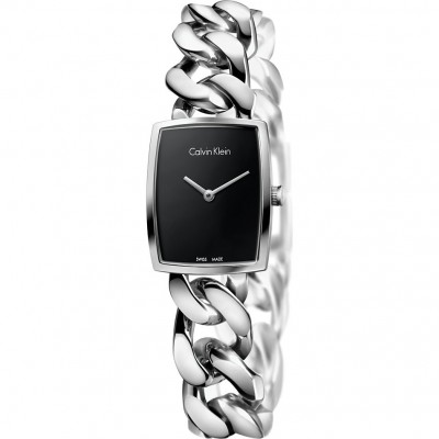 Calvin klein amaze orologio donna k5d2m121 nero