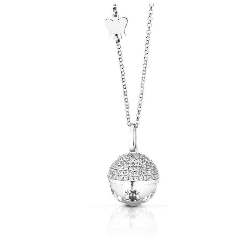 prezzo competitivo 5095c 7f6ed Giannotti collana chiama angeli in argento e zirconi sfa91