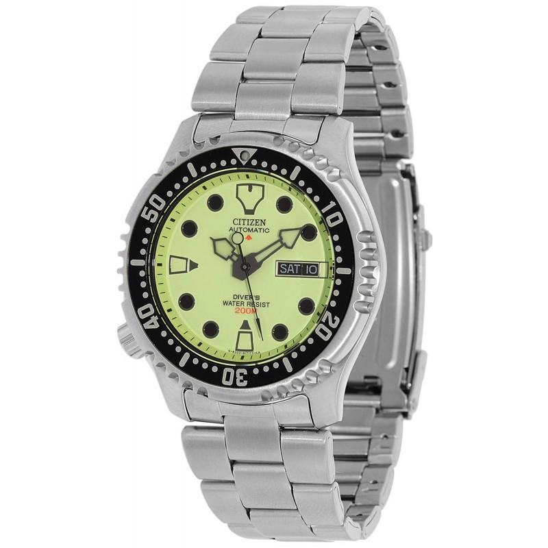 Citizen promaster diver's NY0040-09W bracciale acciaio