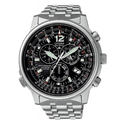 CITIZEN crono pilot AS4020-52E