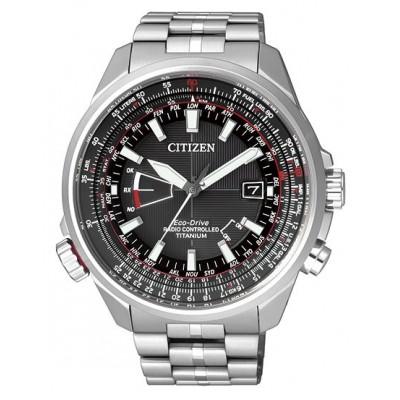 Citizen CB0140-58E pilot titanio