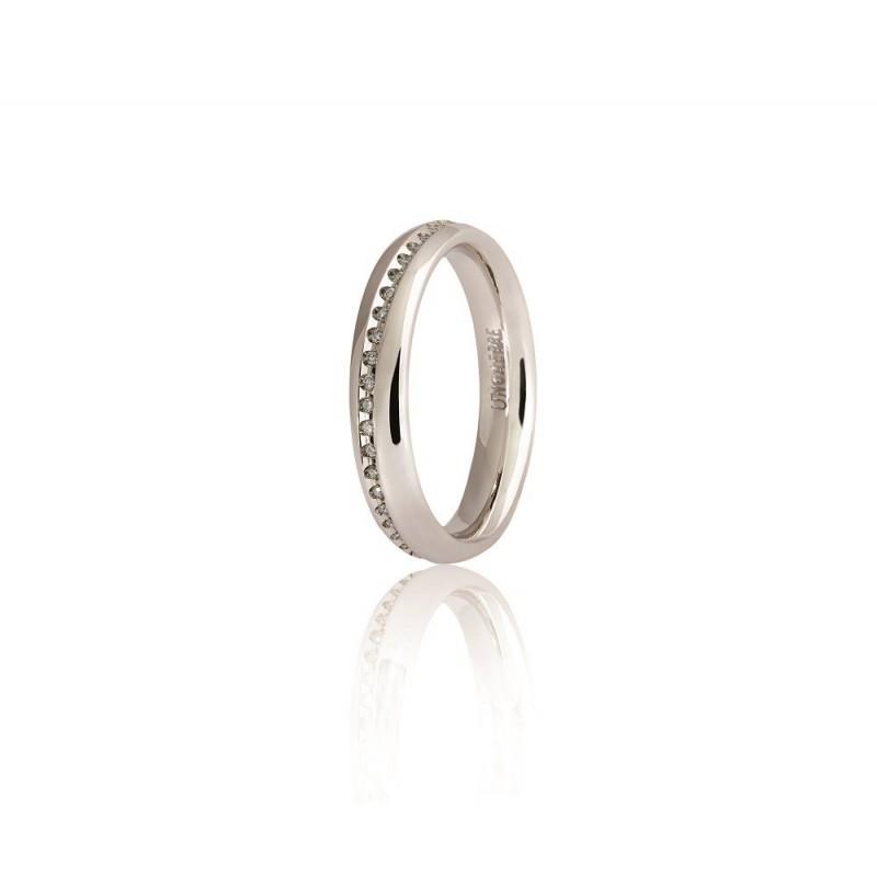 Fede Unoaerre infinito collezione 9.0 con diamanti.