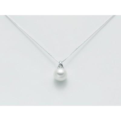 Miluna collana in oro con pendente perla PCL3124