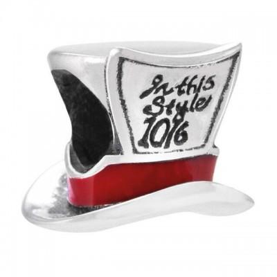 Chamilia charm disney mad hatter cappellaio matto 2020-0854