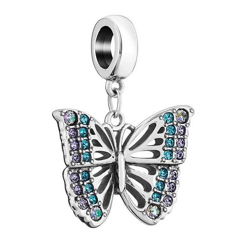 Chamilia charm rainforest butterfly 2025-2234