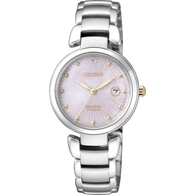 Orologio citizen lady EW2506-81Y super titanium