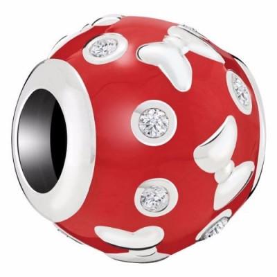 Chamilia bead Disney classico Minnie Mouse accents 2025-2398
