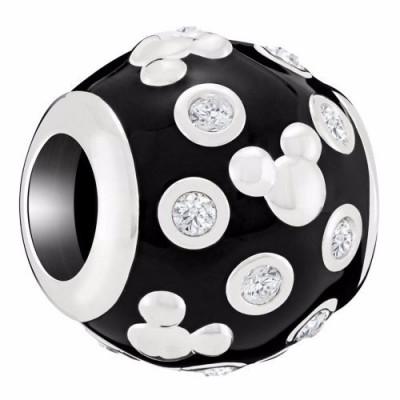 Chamilia bead disney Mickey Mouse accents 2025-2399