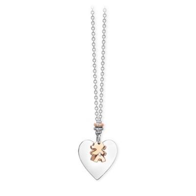 Collana 2Jewels con Bimba e cuore 251521 Puppy