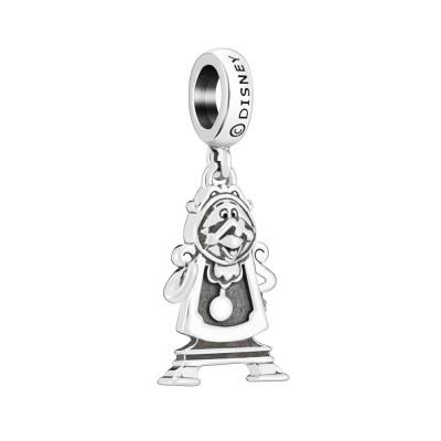 Chamilia charm Disney Cogsworth Tockins 2010-3722  orologio a pendolo la bella e la bestia