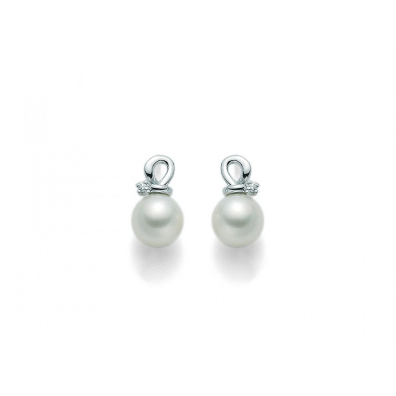 migliore a buon mercato 7a7c9 4686b Orecchini Miluna perle e diamanti miluna PER1834X