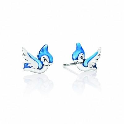 Chamilia orecchini Disney biancaneve snow white bluedird 1310-0082