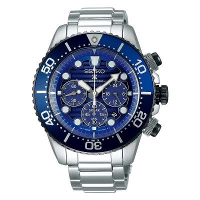 Orologio Seiko SSC675P1 save the ocean chrono solar