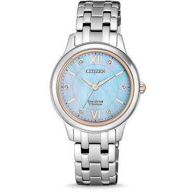 Orologio Citizen EM0726-89Y supertitanio da donna