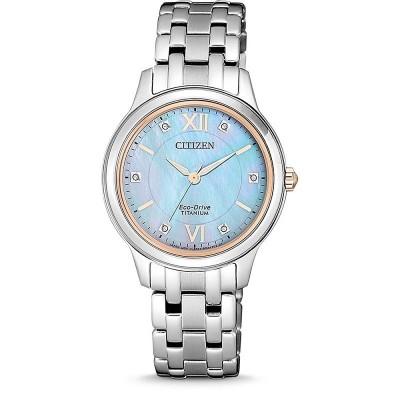 Orologio Citizen EM0726-89Y supertitanio da donna