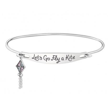 Chamilia Mary Poppins 1010-0446/1010-0447 bracciale con zirconi  scritta Let's go fly a kite