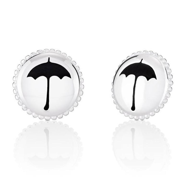 Chamilia Mary Poppins 1310-0098 orecchini tondi con ombrello