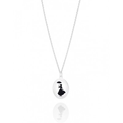 Chamilia Mary Poppins 1210-0072 collana con pendente ovale e Mary Poppins