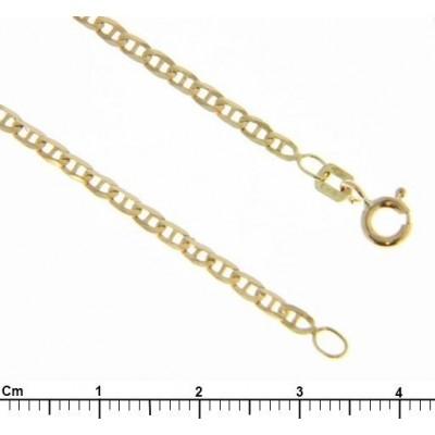 Bracciale Oro Giallo 18 Kt Traversino incavato 2,9 gr