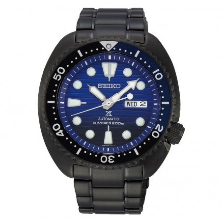 Orologio Seiko SRPD11K1 turtle save the ocean nero