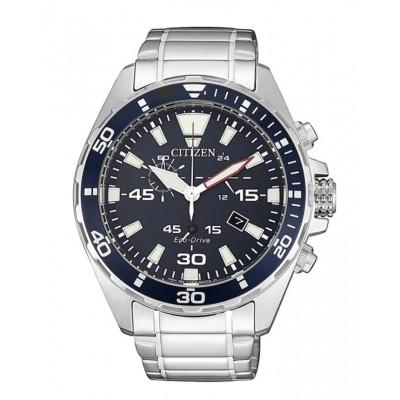 Orologio Citizen AT2431-87L Marine Chrono blu