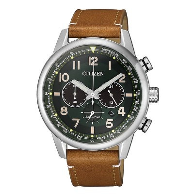 Orologio Citizen CA4420-21X Military Chrono verde
