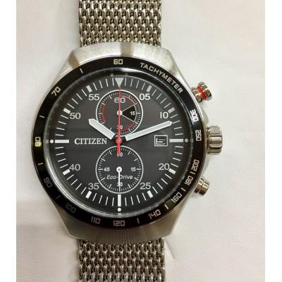 Orologio Citizen CA7010-86E Chrono bracciale acciaio maglia milano