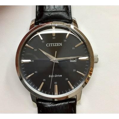 Orologio Citizen BM7460-11E Classic con cinturino in pelle nero