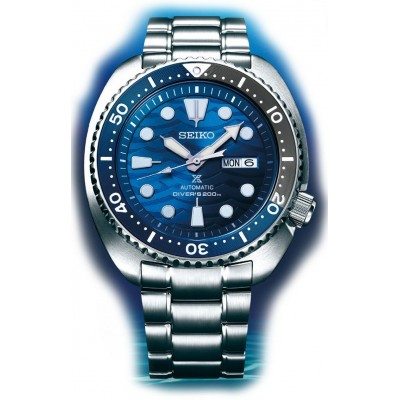 Orologio Seiko SRPD21K1 save the ocean great white shark