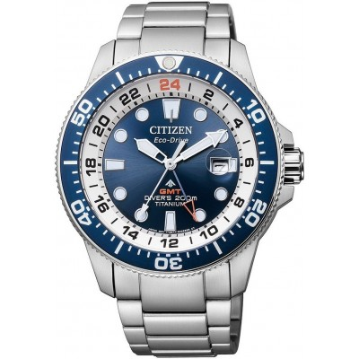 Orologio Citizen BJ7111-86L GMT con profondimetro in super titanio