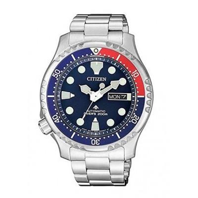 Orologio Citizen NY0086-83L divers meccanico automatico rosso e blu