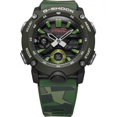 Casio GA-2000GZ-3AER Gorillaz G-Shock Collaboration Model