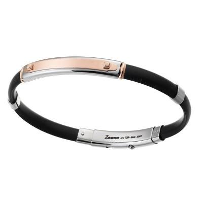 Zancan Bracciale Argento e Oro Rosa EXB154R