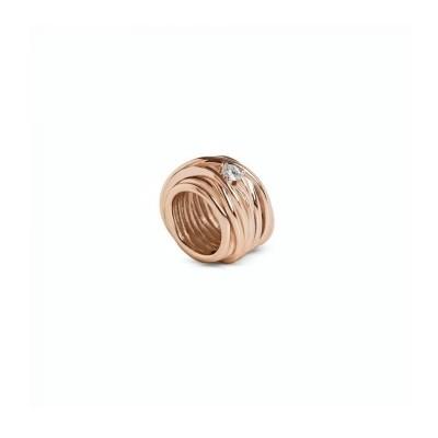 FiloDellaVita Anello Mini Oro Rosa e Diamante AN1005RBT