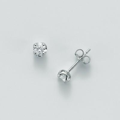 Miluna Orecchini Oro Bianco e Diamanti ERD5071-040G7