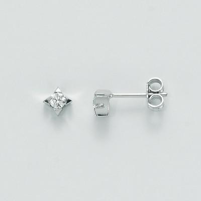 Miluna Orecchini Oro Bianco e Diamanti ERD1590-012G7