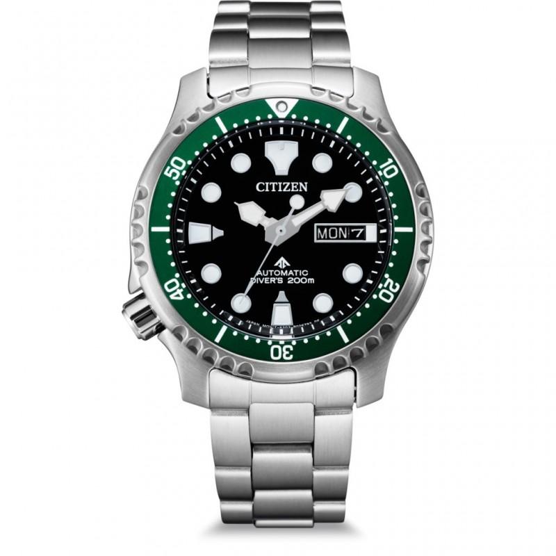 Orologio Citizen NY0084-89E promaster diver acciaio ghiera verde