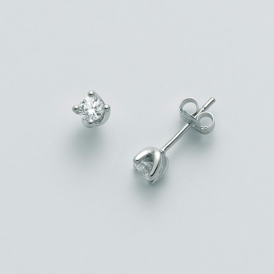 Orecchini Miluna Oro Bianco con Diamanti ERD2385-032G7