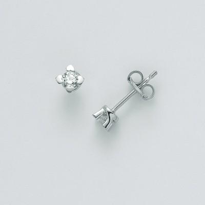 Orecchini Miluna Oro Bianco con Diamanti ERD2421-030G7