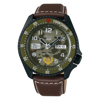 Orologio Seiko SRPF21K1 GUILE Street Fighter Limited Edition