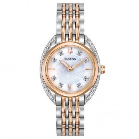 Bulova 98R270 Orologio Donna Classic Lady con Diamanti