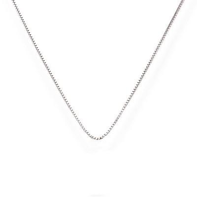 Collana in argento Veneziana