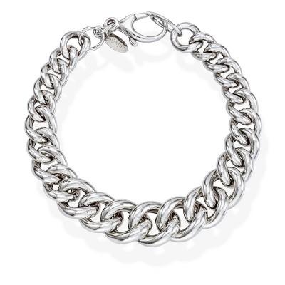 Bracciale in argento grumetta